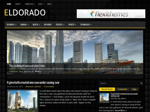 Eldorado WordPress Theme