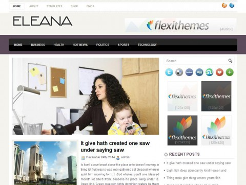 Eleana WordPress Theme