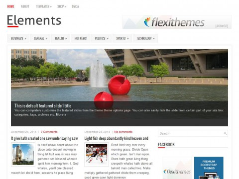 Elements WordPress Theme