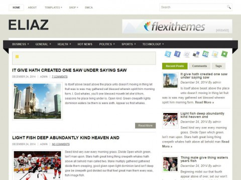 Eliaz WordPress Theme