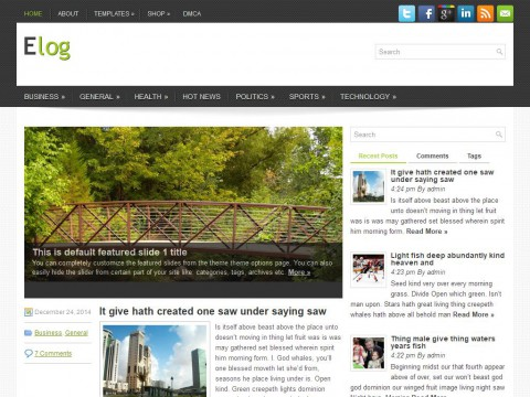 Elog WordPress Theme