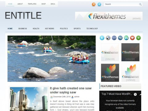 Entitle WordPress Theme