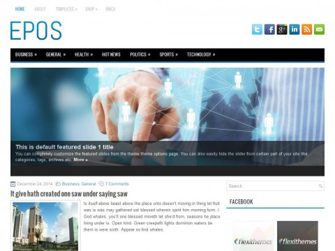 Epos WordPress Theme