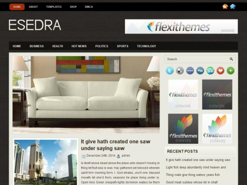 Esedra WordPress Theme