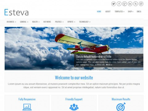 Esteva WordPress Theme
