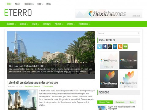 Eterro WordPress Theme