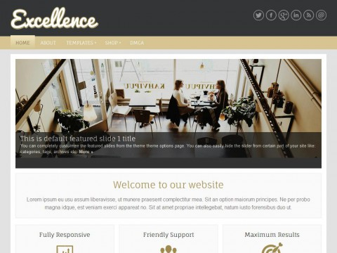 Excellence WordPress Theme