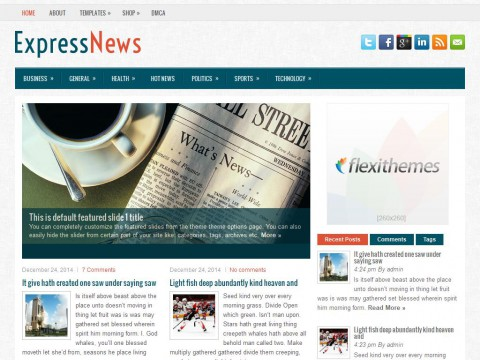 ExpressNews WordPress Theme