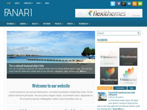 Fanari WordPress Theme