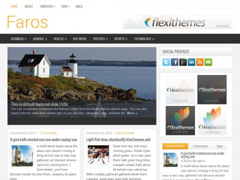 Faros WordPress Theme