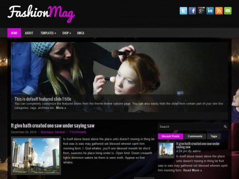 FashionMag WordPress Theme