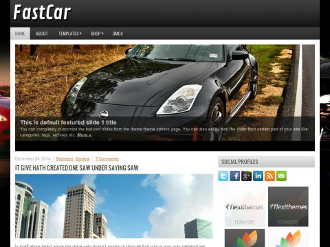 FastCar WordPress Theme