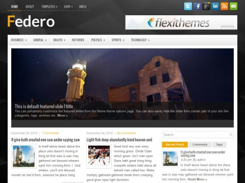 Federo WordPress Theme
