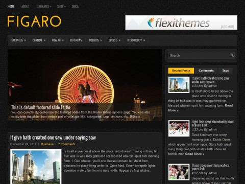 Figaro WordPress Theme