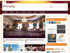 Firely WordPress Theme