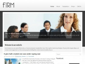 Firm WordPress Theme