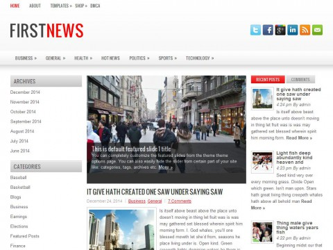 Permanent Link to FirstNews