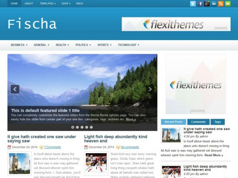 Fischa WordPress Theme