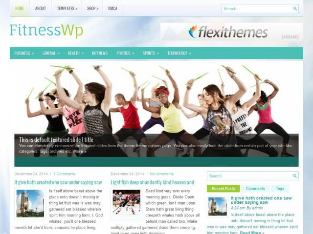 FitnessWp Theme Demo