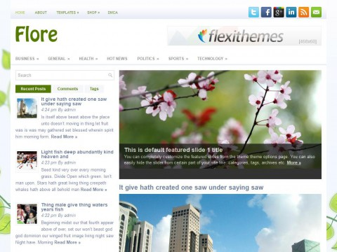 Flore WordPress Theme