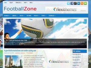 FootballZone WordPress Theme