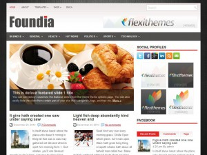 Foundia WordPress Theme