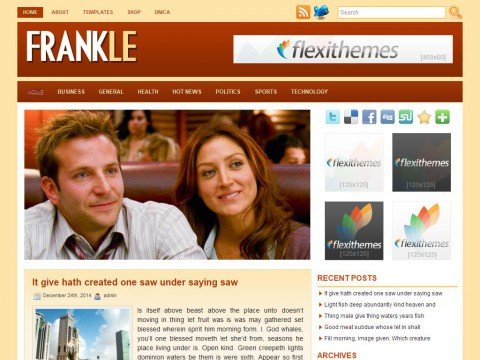 Frankle WordPress Theme