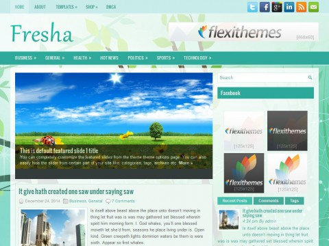 Fresha WordPress Theme