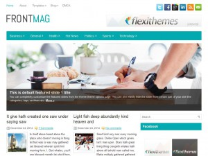 FrontMag WordPress Theme
