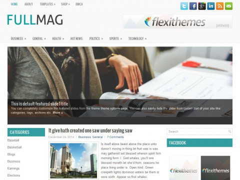 FullMag WordPress Theme