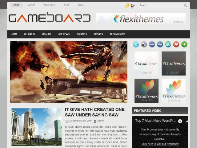 GameBoard Theme Demo