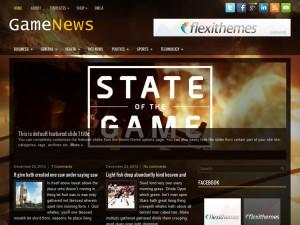 GameNews WordPress Theme