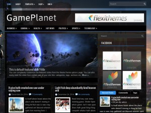 GamePlanet WordPress Theme