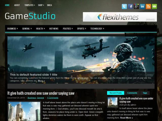 GameStudio Theme Demo