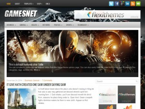 GamesNet WordPress Theme