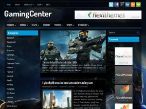 GamingCenter WordPress Theme