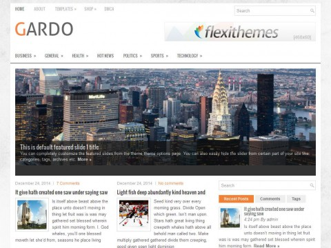 Gardo WordPress Theme