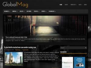 GlobalMag WordPress Theme