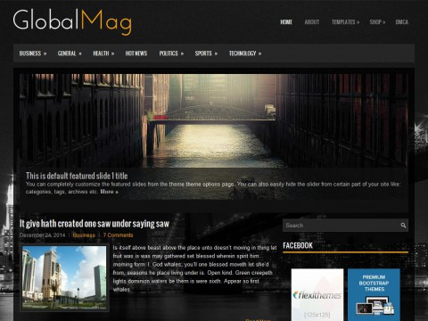 GlobalMag WordPress Theme