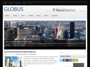 Globus WordPress Theme