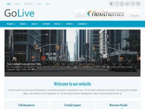 GoLive WordPress Theme