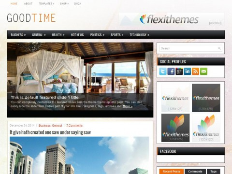 GoodTime WordPress Theme