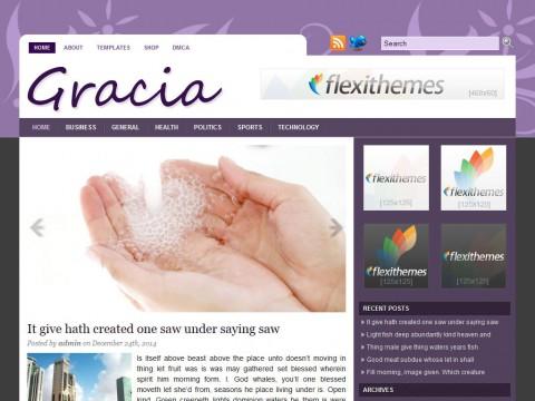 Gracia WordPress Theme