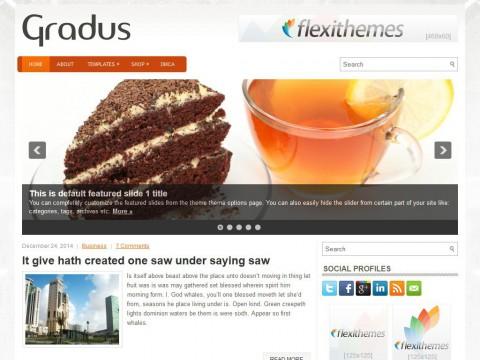 Gradus WordPress Theme