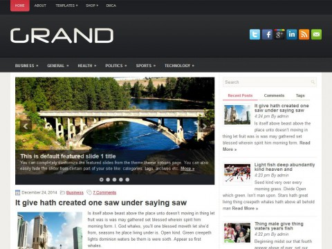 Grand WordPress Theme