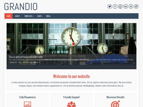 Grandio WordPress Theme
