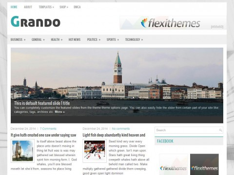 Grando WordPress Theme