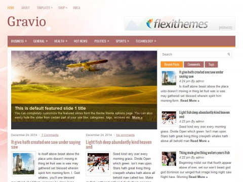 Gravio WordPress Theme