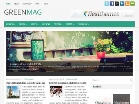 GreenMag WordPress Theme