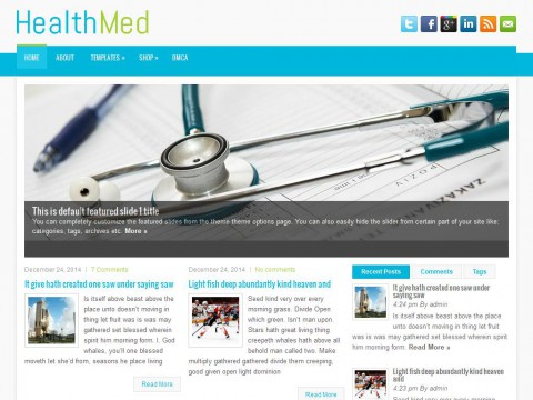 HealthMed WordPress Theme